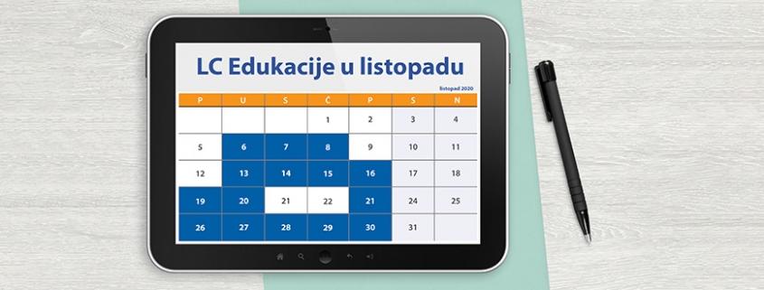 LC edukacije u listopadu